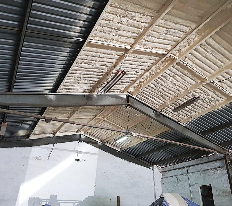 Termopur - Ipari épületek, csarnokok, gazdasági épületek hőszigetelése