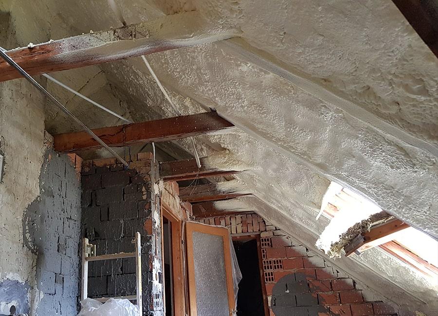 Termopur - Ipari épületek, csarnokok, gazdasági épületek, lakóépületek hőszigetelése purhabbal